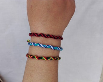 Friendship bracelet - these bracelets are water safe - set of 3 products (all the products of my shop)