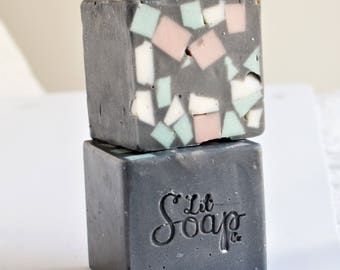 SOLD OUT Activated Charcoal Chunk- Limited Edition Large Bar