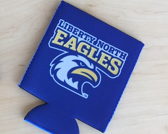 School Pride Can Coolers, School or business Logo Can Cozie