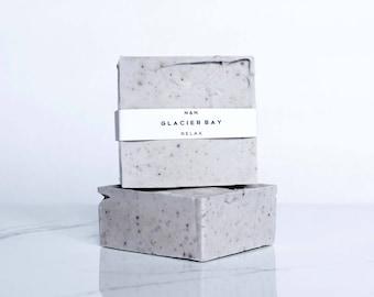 Glacier Bay | All Natural Handmade Soap | Relax |  Vegan soap | Eco-Friendly Soap | Cold Process Soap |