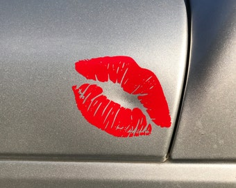 Lips sticker/decal