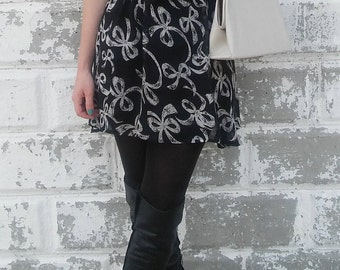 Bow Halter Skirt