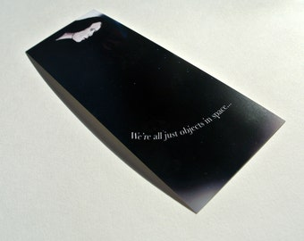 Objects In Space Bookmark