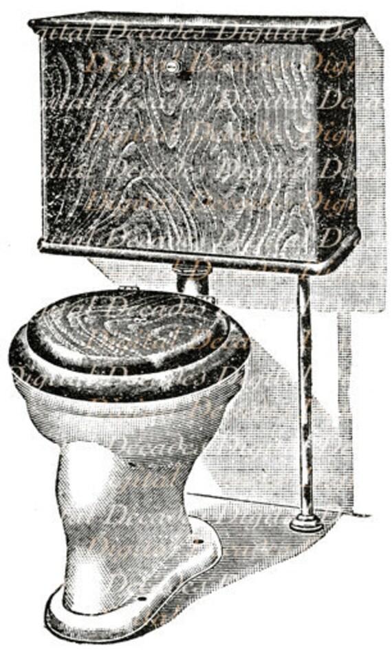 Bathroom Water Closet Potty Loo Toilet Restroom Plumbing