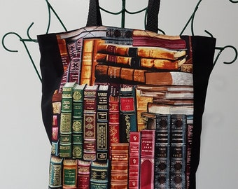 Book Bag - Book Spines
