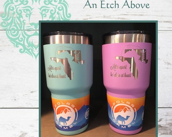 Miles Apart but Close at Heart - Personalized Stainless Steel Tumbler, 2 size options - Add Cities & States for FREE - Friend Gift