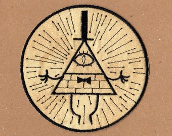Bill Cipher Patch - Gravity Falls