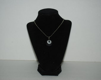 Handcrafted Pool Ball Necklace
