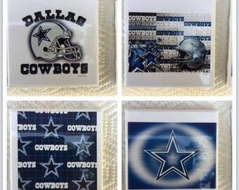 Dallas Cowboys football coasters