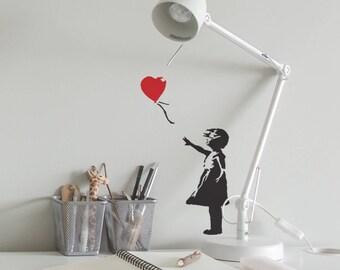 CraftStar Banksy Balloon Girl Stencil- Urban Graffiti Art Template - A4 Size