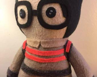 Ghostbusters 2016 Fleece Plush Dolls