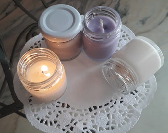 Scented Candle 100% natural soy wax