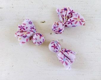 Fabric beads, pink beads, fabric beads, jewelry making, diy, handmade, ready to ship, jewelry pink, jewelry supplies, beading