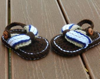 Newborn Sandals - Baby Sandals - Summer Sandals - Baby Boy Sandals - Baby Boy Flip Flops - Baby Flip Flops - Boy Flip Flops - Baby Boy Shoes