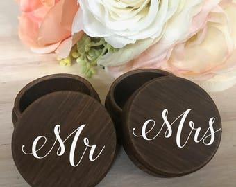 Wedding Ring Box / Wood Ring Box / Ring Bearer Box / Wood Box / Ring Box / Wedding Box / Ring Bearer / Jewelry Box / Personalized Wedding
