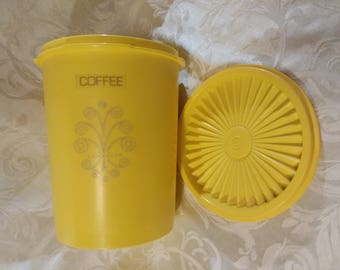Tupperware Servalier Coffee Canister