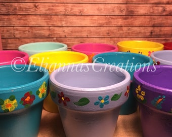 Colorful Planters/Pots