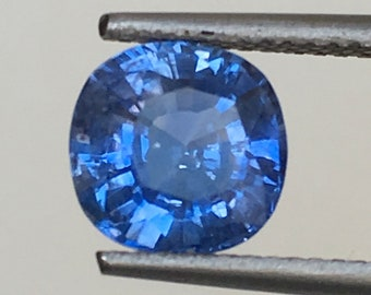 2.02ct GIA blue sapphire heated only