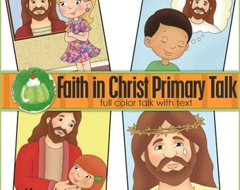 FAITH in CHRIST Primary TALK - Downloadable File