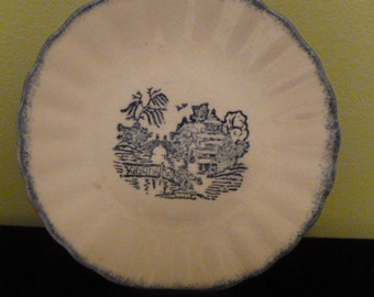 "SOUTHERN POTTERIES Blue Willow, 5"" plate"