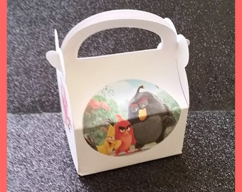 Angry Birds Movie Favor Boxes, Angry Birds Movie Birthday Party Supplies,Angry BIrds movie party favors