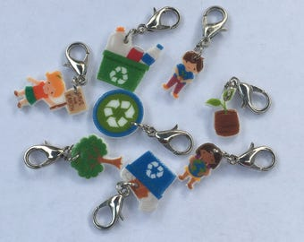Earth Day Charms