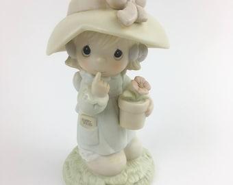 Vintage Precious Moments Happy Birthday Poppy Figurine 106836