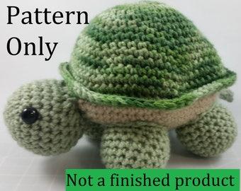 Turtle Crochet Pattern PDF