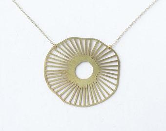 Poppy Flower Necklace | ATL-N-133