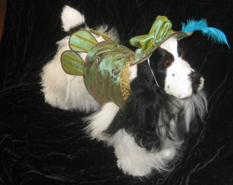 The Devereaux  Renaissance Dog Costume
