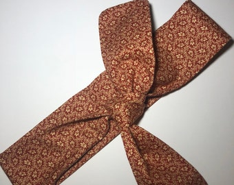 Falling Leaves Rounded Self Tie Headband