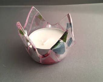 Spring time candle holder