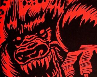 Monsters, Madmen & Robots, Art Zine