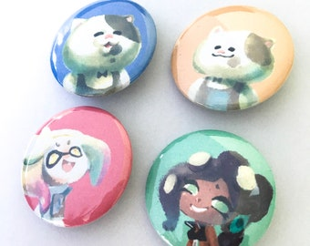 SPLATOON Buttons