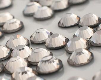 Black Diamond SS5 rhinestones - flat back (flat) - 1.8 mm ss 5