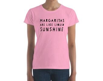 Margaritas Are Like Liquid Sunshine Cinco de Mayo Women's short sleeve t-shirt