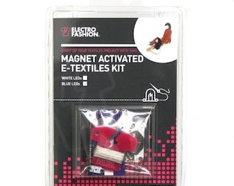 Electro-Fashion Magnet Activated E-Textiles Kit Sewable Electronics E textiles e-textiles