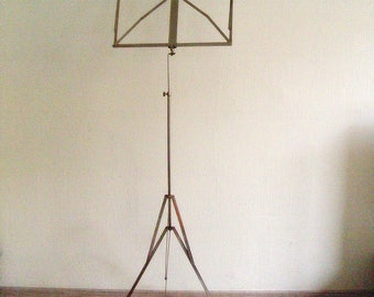 Folding Music Stand - Sheet Music Stand - Vintage Music Holder