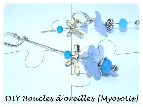 """DIY"" Kit earrings to make yourself [light]"