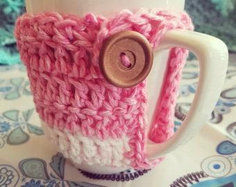 Pretty in Pink Mug Cozie