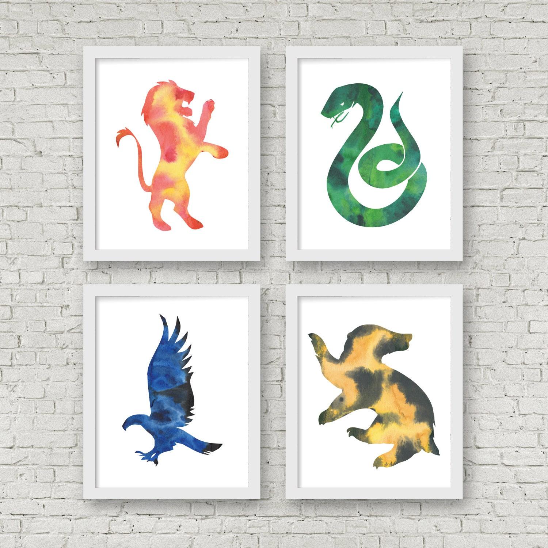 621f529eef Harry Potter. Hogwarts Houses. Ravenclaw. Slytherin.