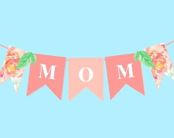 mothers day banner etsy. Black Bedroom Furniture Sets. Home Design Ideas