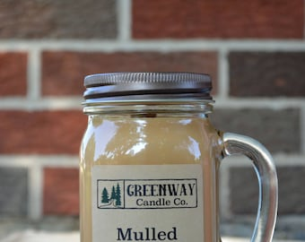 Mulled Cider Soy Wax Candle 16 oz