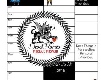 Game of Thrones Teacher Schedule