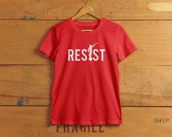 T-shirt - Engel Moroni Mormon politische T-shirt - liberalen Widerstand zu widerstehen