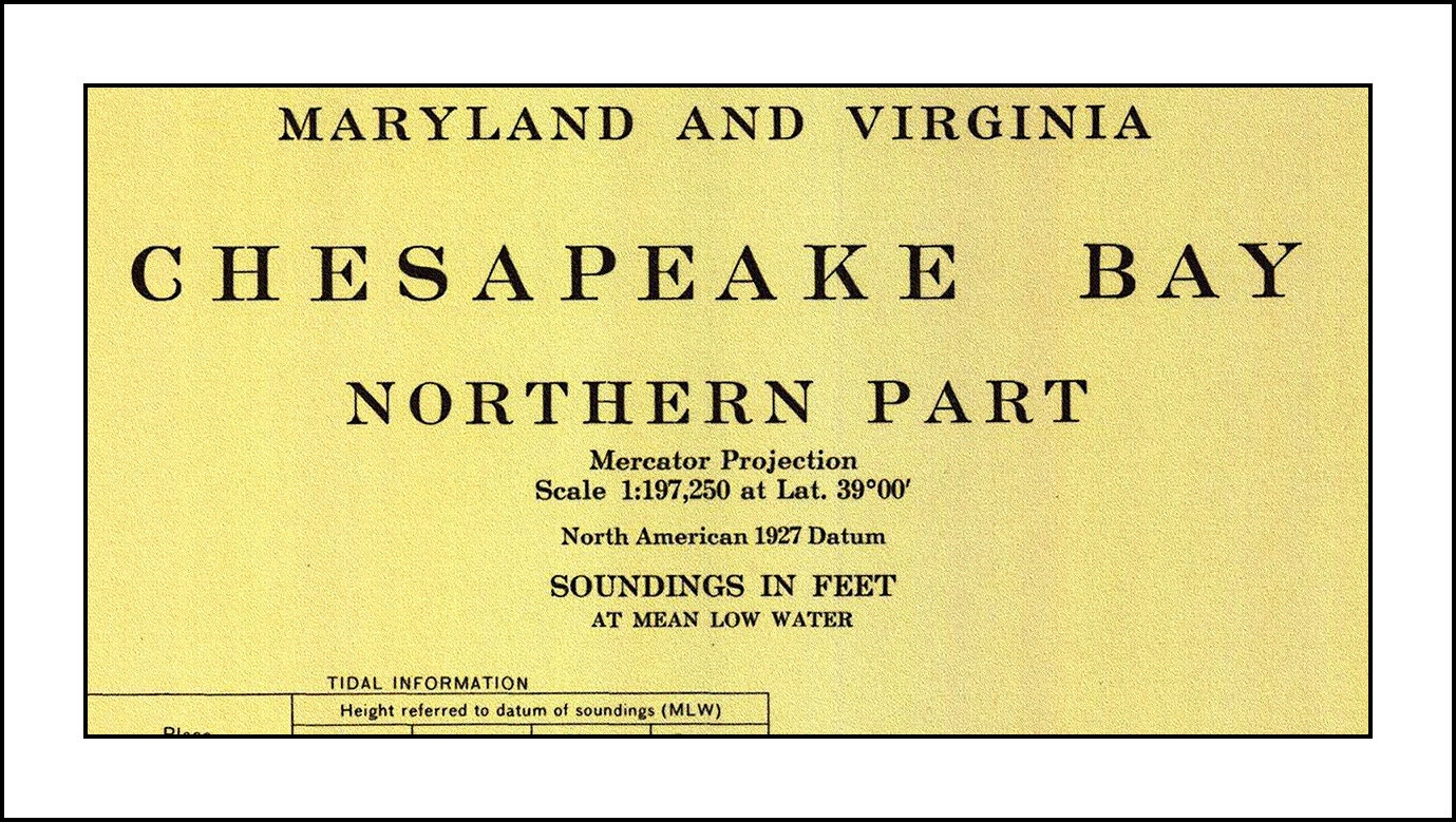 Chesapeake bay nautical chart nautical chart chesapeake bay zoom nvjuhfo Gallery