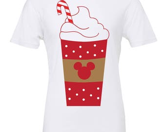 Disney Christmas shirt | Disney peppermint mocha shirt | Disney shirt