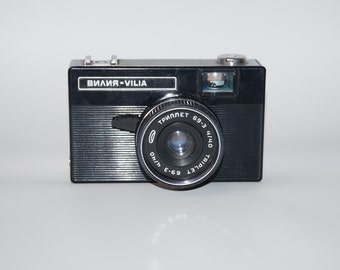 USSR Vintage camera Collectibles photo camera Photographer gift  Soviet camera Film camera retro camera photography  1970's  made in USSR