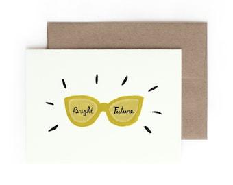 Bright Future Greeting Card / Graduation / Made in Hawaii