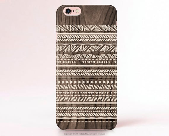 Wood iPhone 6 Case iPhone 5 Case Tribal iPhone 5s Case LG G3 Case Galaxy S5 S4 mini case wood Note 4 case Aztec Samsung Galaxy S6 Case Wood